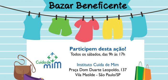 Bazar aos Sábados - Instituto Cuida de Mim