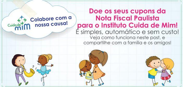 Doe seus créditos da Nota Fiscal Paulista!