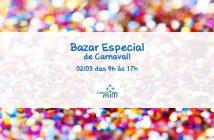 Bazar Especial de Carnaval | Instituto Cuida de Mim